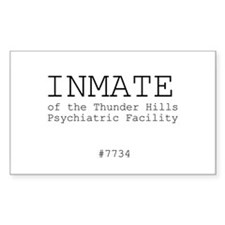 Inmate Rectangle Decal