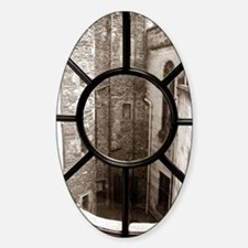 Dunrobin Castle Sticker (Oval)
