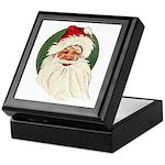 Vintage Santa Keepsake Box