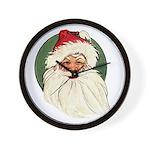 Vintage Santa Wall Clock