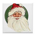 Vintage Santa Tile Coaster