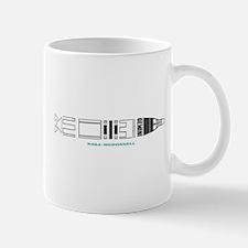 Gemini Space Program Vintage Mug