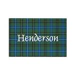 Tartan - Henderson Rectangle Magnet (10 pack)