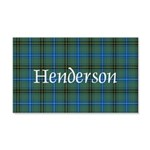 Tartan - Henderson 20x12 Wall Decal