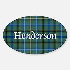 Tartan - Henderson Decal