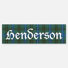 Tartan - Henderson Sticker (Bumper)