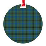 Tartan - Henderson Round Ornament