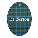 Tartan - Henderson Ornament (Oval)
