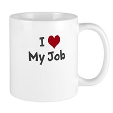 I Heart My Job Mugs