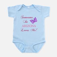 Arizona State (Butterfly) Infant Bodysuit