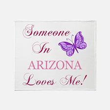 Arizona State (Butterfly) Throw Blanket