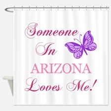 Arizona State (Butterfly) Shower Curtain