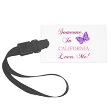 California State (Butterfly) Luggage Tag