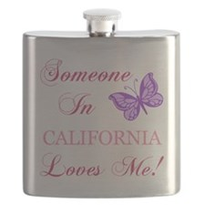 California State (Butterfly) Flask