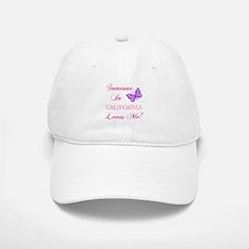 California State (Butterfly) Baseball Baseball Cap