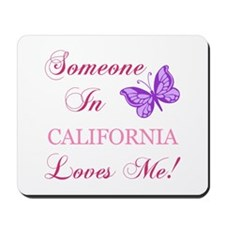 California State (Butterfly) Mousepad