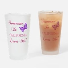 California State (Butterfly) Drinking Glass