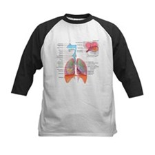 Respiratory system complete Baseball Jersey