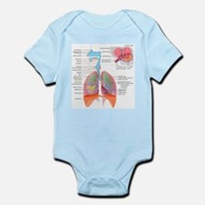 Respiratory system complete Body Suit