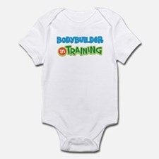 Bodybuilder in Training Infant Bodysuit