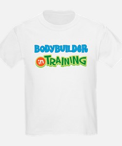 Bodybuilder in Training T-Shirt