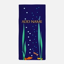 Swimming Fish Beach Towel