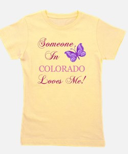 Colorado State (Butterfly) Girl's Tee