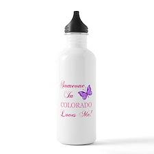 Colorado State (Butterfly) Water Bottle