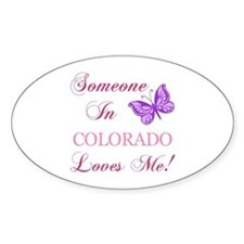 Colorado State (Butterfly) Decal