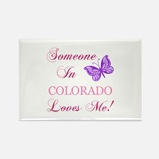 Colorado State (Butterfly) Rectangle Magnet