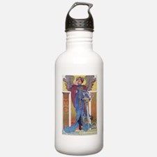 Omega Bicycle Poster Water Bottle