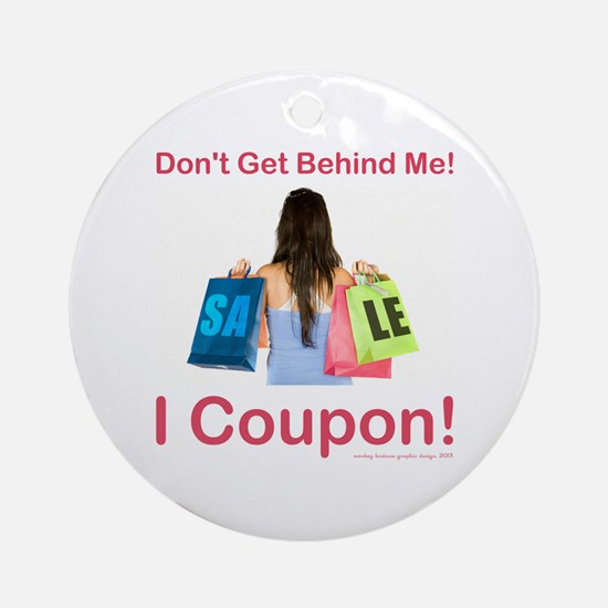 COUPONING Ornament (Round)