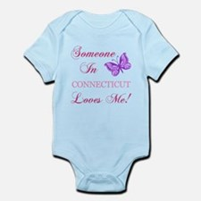 Connecticut State (Butterfly) Infant Bodysuit
