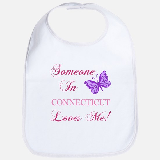 Connecticut State (Butterfly) Bib