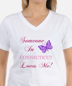 Connecticut State (Butterfly) Shirt