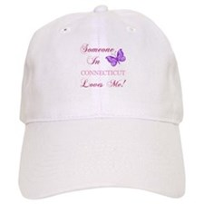 Connecticut State (Butterfly) Baseball Cap