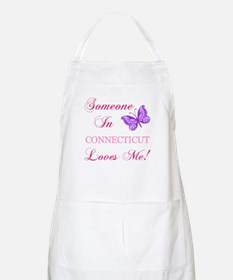 Connecticut State (Butterfly) Apron