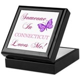 I love connecticut Square Keepsake Boxes