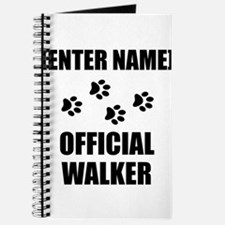 Official Pet Walker Personalize It!: Journal