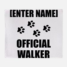 Official Pet Walker Personalize It!: Throw Blanket