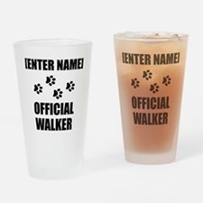Official Pet Walker Personalize It!: Drinking Glas