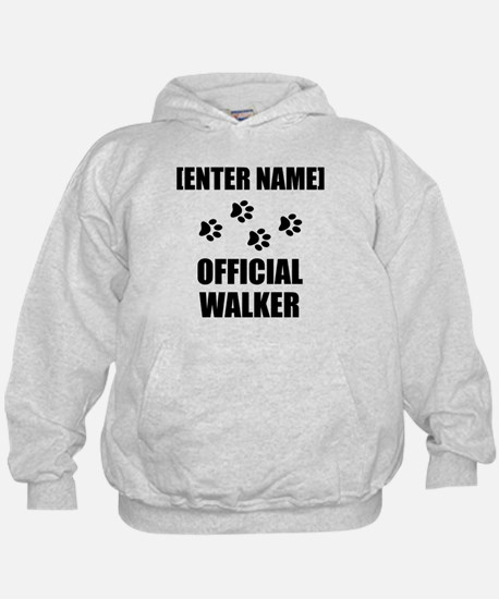 Official Pet Walker Personalize It!: Hoodie