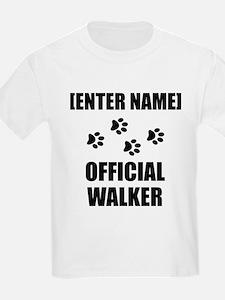 Official Pet Walker Personalize It!: T-Shirt