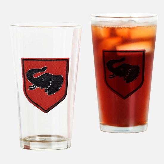Rhodesian Army First Brigade Drinking Glass