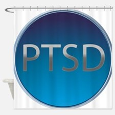 Button_PTSD.png Shower Curtain