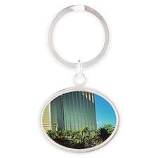 Viva Las Vegas Oval Keychain