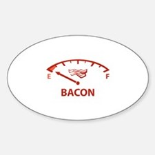 Running On Empty : Bacon Decal