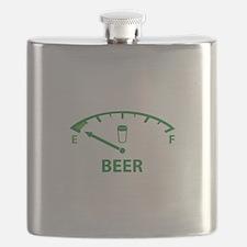 Running On Empty : Beer Flask