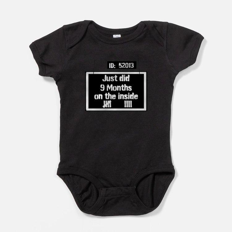 Prison Kid Baby Bodysuit