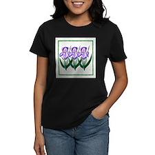 Purple Iris Garden T-Shirt